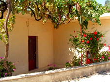 Your Crete home? Vine-shaded and rose-perfumed
