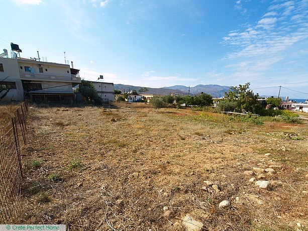 Large level plot with sea views & huge build allowance