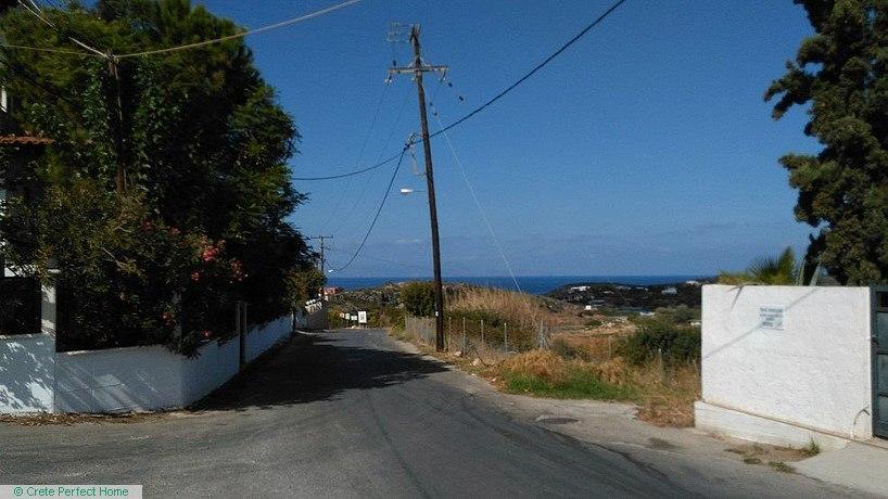 Village plot near beach, sea & mountain views