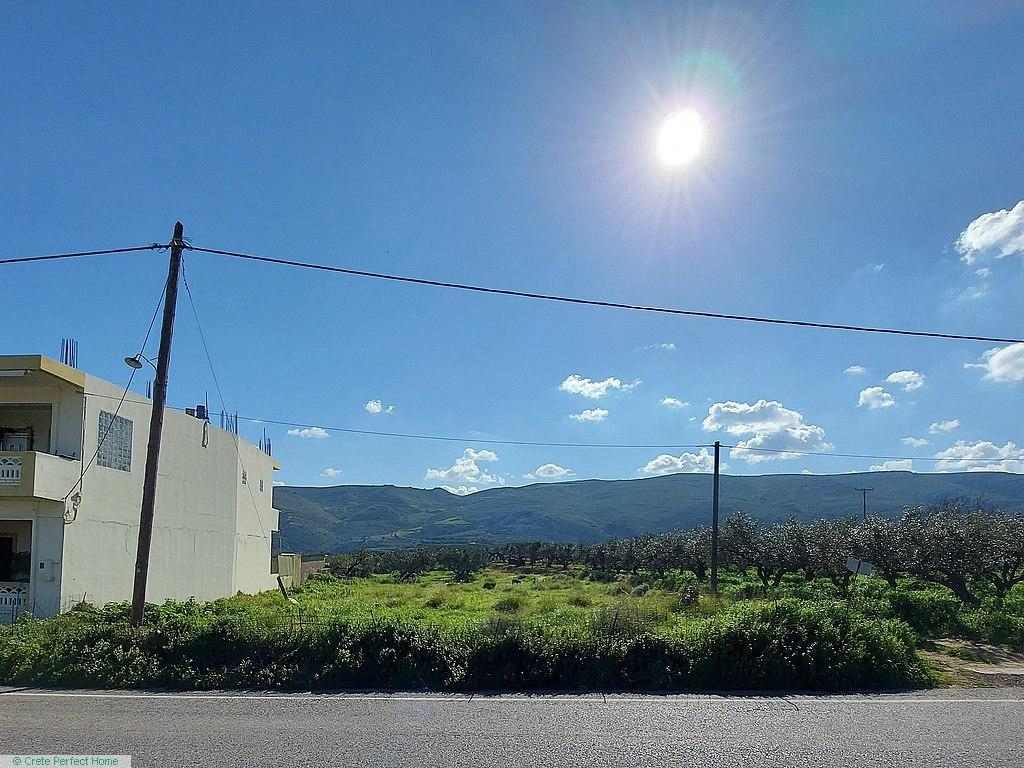 Level plot near Falassarna, rural views, perfect for touristic use