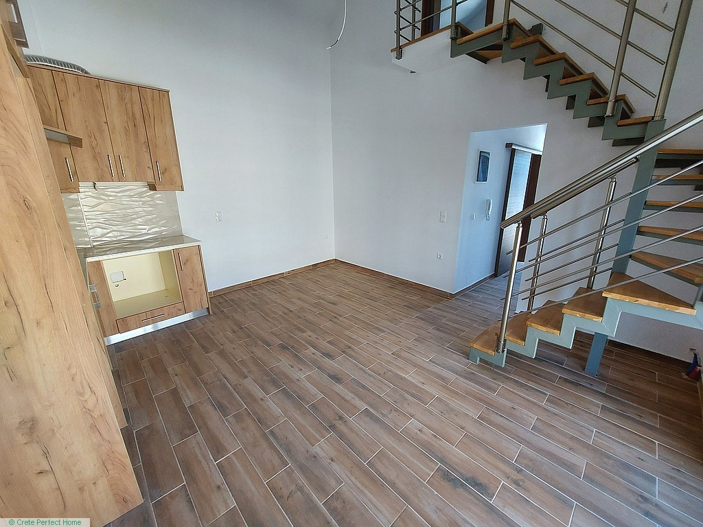 New 60m2 2-bed apartment in town centre with balconies