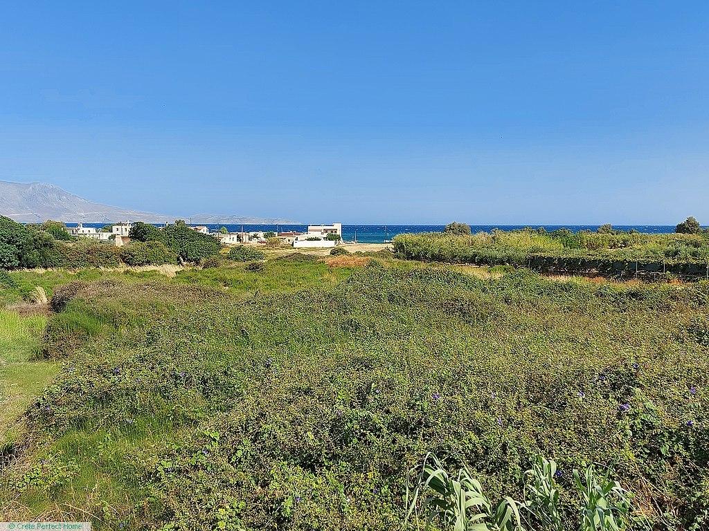 Large level plot near beach, large build allowance, ideal for touism